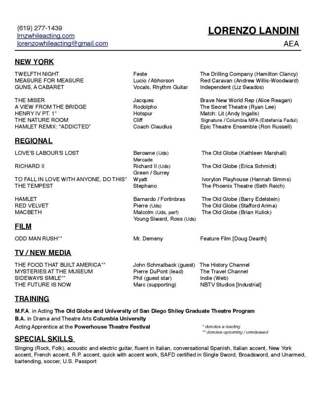 Landini Actor Resume-page-001